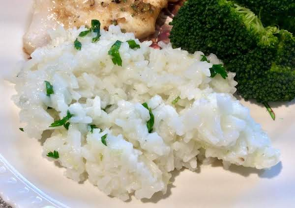 Lemon-lime Rice