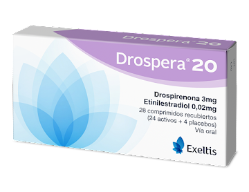 DROSPERA  20 3/0.02 MG   COMPRIMIDOS CAJA X28COM.EXELTIS DROSPIRE ETINIL