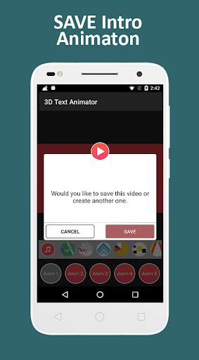 3D Text Animation - Logo Animation, 3D Intro Maker 1.2 screenshots 15
