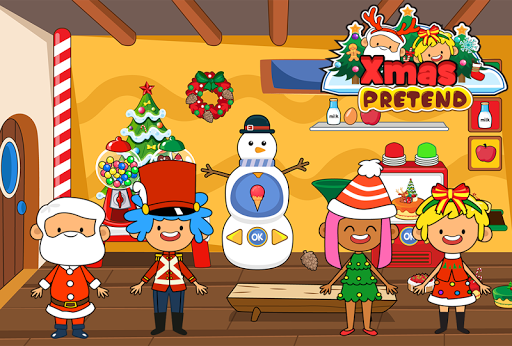 My Pretend Christmas - Kids Holiday Party FREE 1.2 screenshots 5