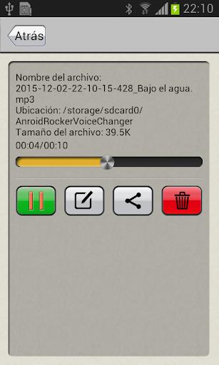 Modificador de voz screenshot 7