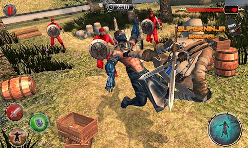 Super Ninja Kungfu Knight Samurai Shadow Battle 5