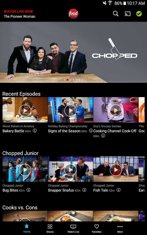 Food Network- screenshot