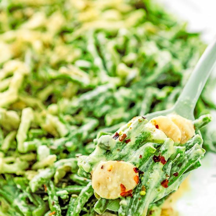 Slow Cooker Easy Green Beans Casserole Recipe