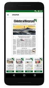 Einbecker Morgenpost - EM Digital- screenshot thumbnail