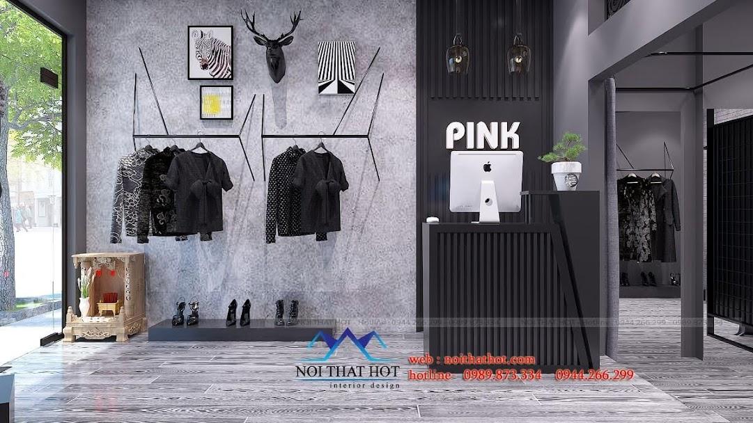 thiết kế shop thời trang nữ cá tính 7