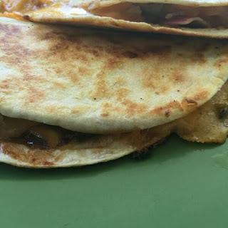 Barbecue Chicken Quesadillas #SRCBacktoSchool