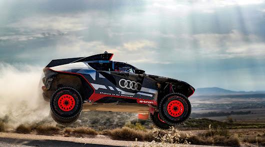 El Audi RS-Q e-tron se pone a prueba bajo el sol de España