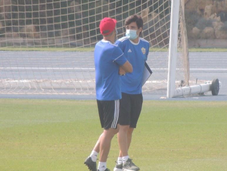 Mario Silva y Nandinho.