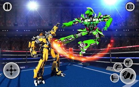 Futuristic Robot Ring Fighting 2020 1