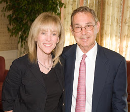 Photo: Phyllis Gorby and Nominating Committee Chair Joel Mogy
