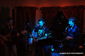 Photo: Albi, Jacob and friends rock out.