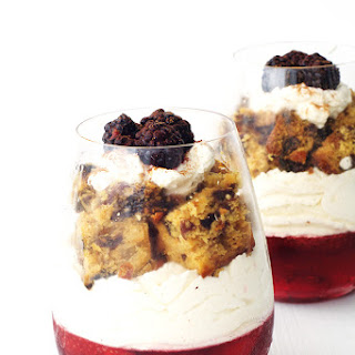 Leftover Christmas Cake Parfaits