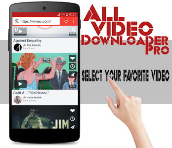 All Video Downloader Pro screenshot 1