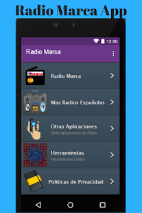 Radio Marca App - náhled