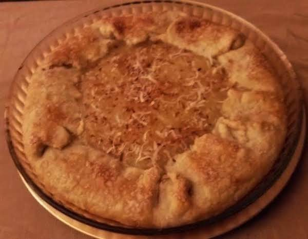 Pineapple Coconut Tart