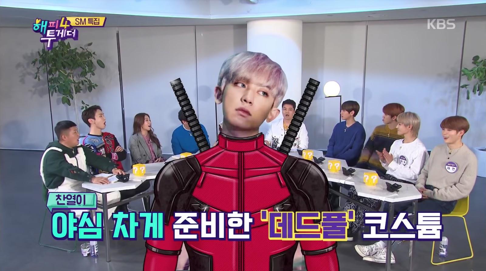 baekhyun chanyeol deadpool