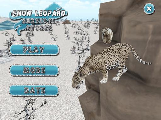 雪豹生存攻擊