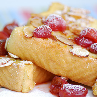 Almond Crusted Pain Perdu (French Toast)