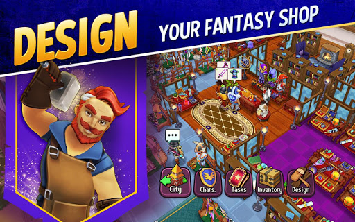 Download Shop Titans: Epic Idle Crafter, Build & Trade RPG 3.3.1 1