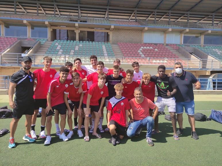 Foto de familia de La Cañada de la 2ª Andaluza juvenil.