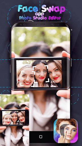 ? Face Swap App - Photo Studio Editor ? 1.0s screenshots 1