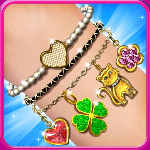 Jewelry Salon – bracelets, rings. For girls. Icon