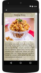 Resep Cemilan Sehat screenshot