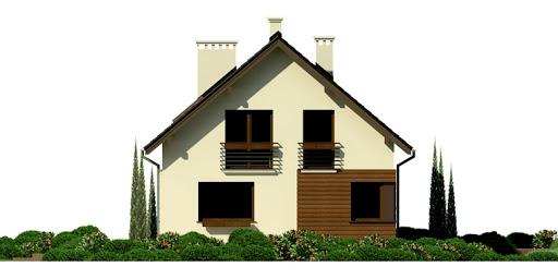 Dom przy Głogowej 2 - Elewacja lewa