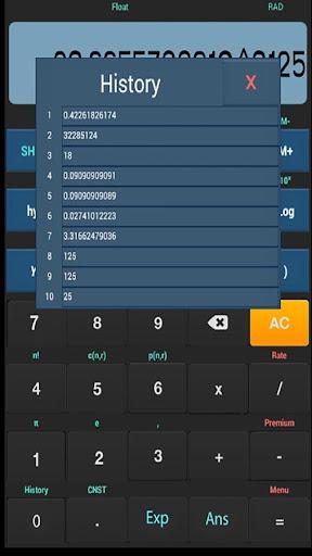 LITE Scientific calculator