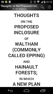 Waltham and Hainault Forests - náhled