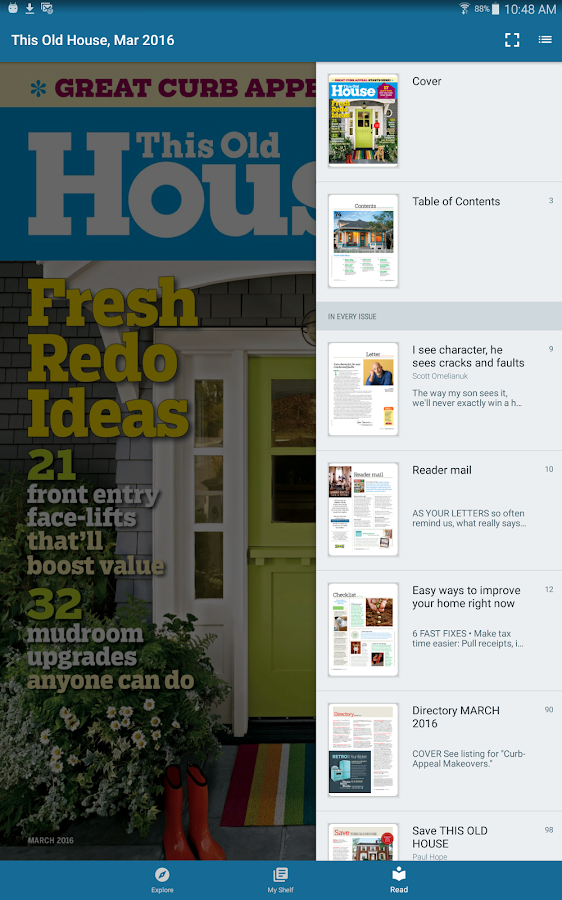Flipster - Digital Magazines- screenshot