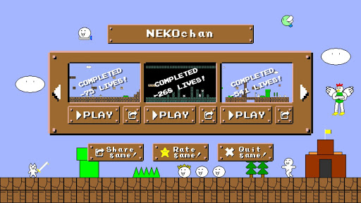 NEKOchan - Syobon Action Remastered 2019 1.1.1 Cheat screenshots 1