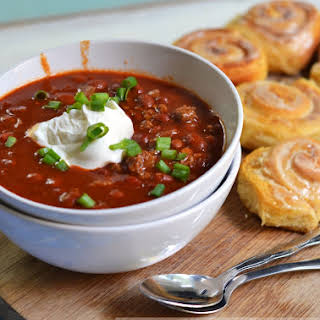 basic chili recipe (featuring Venison).