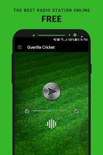 Guerilla Cricket Radio App UK Free Online 1.3 APK + Мод (Free purchase) за Android
