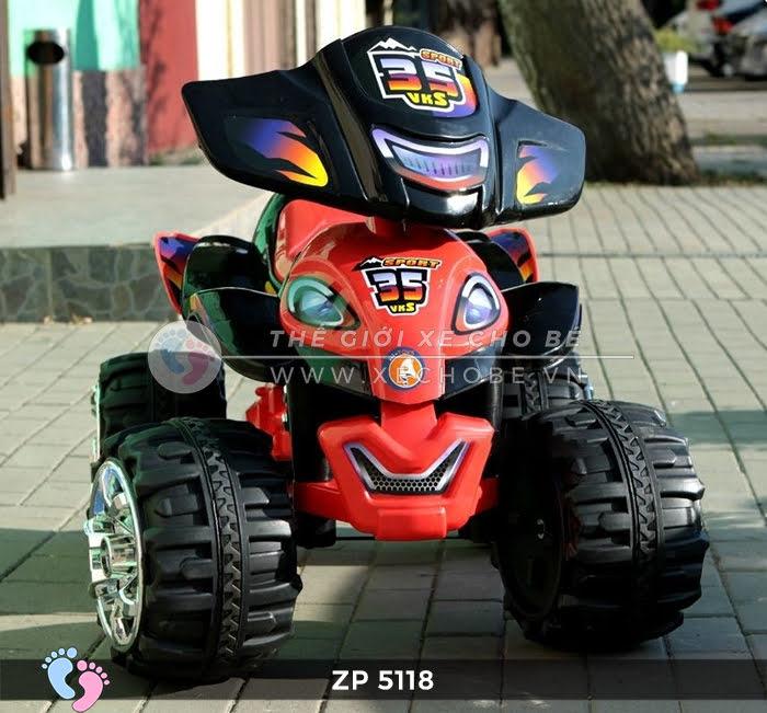 Xe moto điện trẻ em 4 bánh ZP-5118 1