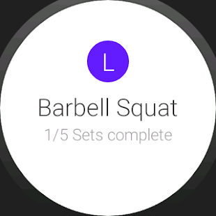 Progression Workout Tracker- screenshot thumbnail