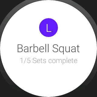 Progression Fitness Tracker- screenshot