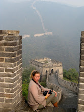 Photo: Day 191 - Dee on The Great Wall of China