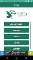 Screenshot of Herbpathy