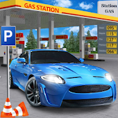 Gas Station Car Parking Simulator