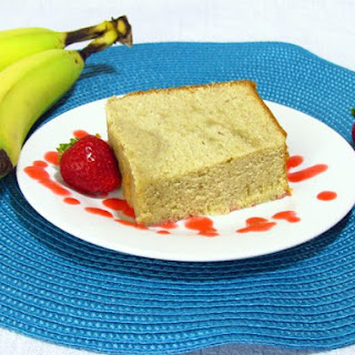 Banana Pound Cake.