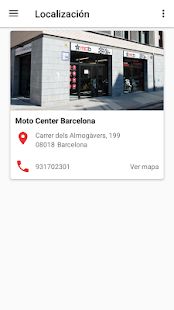 Moto Center Barcelona- screenshot thumbnail