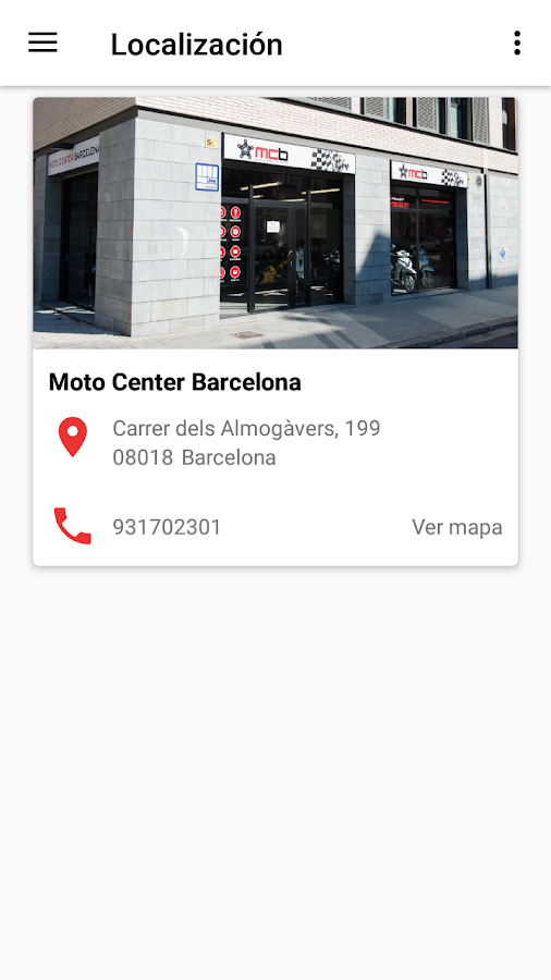 Moto Center Barcelona- screenshot
