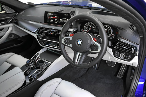 The interior is comfortable and the switchgear better laid out than the last generation. Picture: BMW