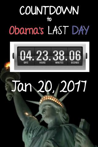 Obama Countdown Clock LW