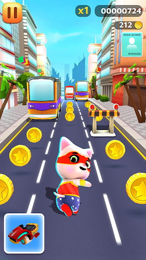 My Kitty Runner - Pet Games screenshots apkshin 17