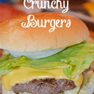 Crunchy Burgers SUMMERTIME EATS