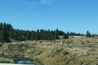 Photo: From Reno, we followed the Truckee River; like the Donner Party of yore. We brought other food, though.