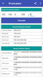 Download IP Calculator | CIDR | Network IP Subnet APK latest
